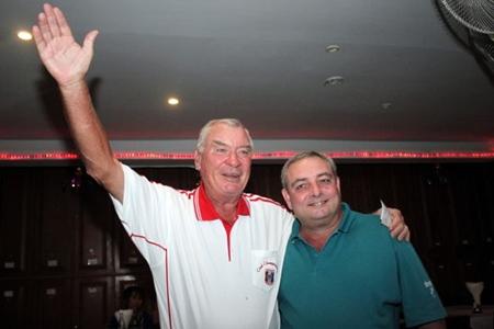 Peter Henshaw (left) and Dave Boran.