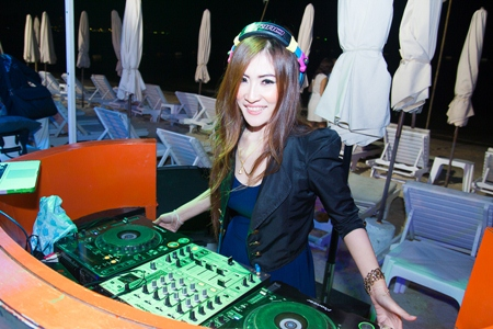 DJ Plooky kept the party rocking.
