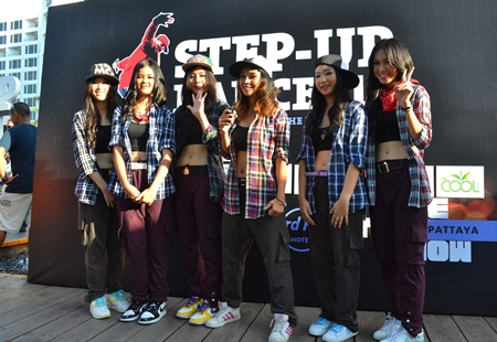 Hard Rock Pattaya's Step-Up Dance '13 competition will be held on Saturday, March 30.