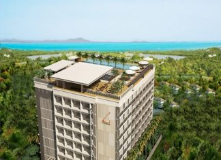 An artist's rendering shows the Abatalay Condominium development in Jomtien.