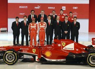 Ferrari F138.