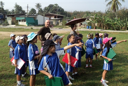 """""""We have been busy exploring the local environment, comparing village life to city life,"""""""