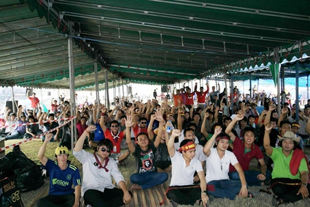 Workers at the General Motors plant in Rayong have been on strike, demanding G.M. change their policy on weekend work.