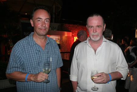 (L to R) Martin Hansen and Michael Holt.