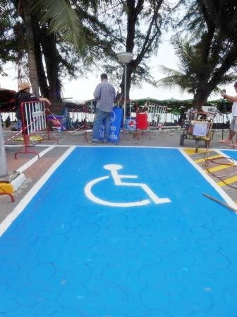 Special areas on the beach will be reserved for the physically challenged. Pattaya plans to be the top destination for handicapped people.