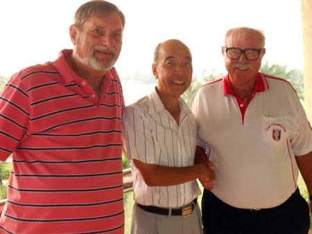 Mike Winfield, Mashi Kaneta and Dave Richardson.