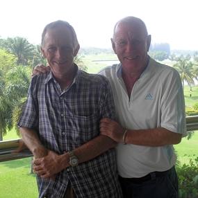 Chris Voller and Rodney Howett.