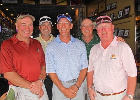 Stuart McKenzie, Jay Burns, Bill Yerdon, George LaPorte & David Baird.