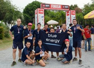 Philippe Kronberg, GM of Hilton Pattaya, together with Harald Feurstein, GM of Conrad Bangkok, led their team to participate in the '2013 North Face 100 Thailand' - the ultimate trail running challenge held at Khao Yai recently. Proceeds were donated to the Thai Elephants Research and Conservation Fund (TERCF) which supports the largest population of Thai wild elephants in the country.