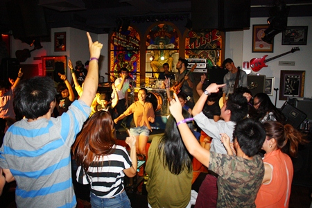 The Hard Rock lived up to its name as the concert venue shook with youthful energy.