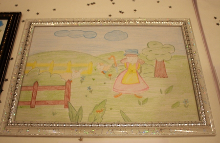 An idyllic scene created by one of the children from Ban Jing Jai.