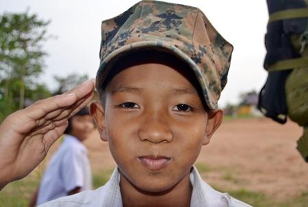 A future General.