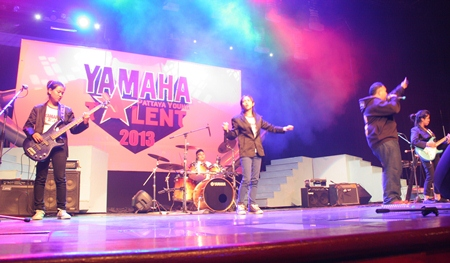 There was plenty of talent at the 2013 Yamaha Pattaya Young Talent contest.
