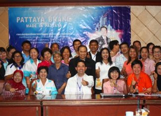 "It's a big thumbs up from everyone trying to promote the new ""Pattaya Brand."""