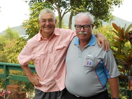 Leif Kirkgaard and Dave Richardson.
