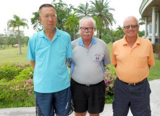 Takeshi Hakozaki, Dave Richardson and Jan Lovgreen.
