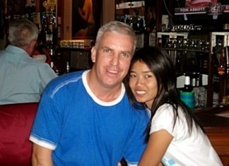 Clinton Hazlett (left) with Nam.