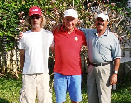 Niall Stuart, JC Lhoste & Ebrahim.