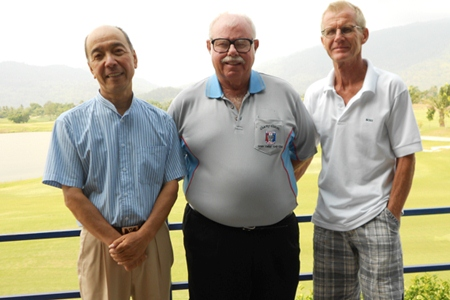 Mashi Kaneta, Dave Richardson and Henning Olsen.