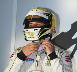 17 year old Stuvik will return to Europe in April for the European Formula 3 season.