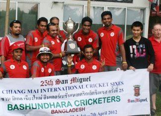 Defending champions Bashundhara Cricketers.