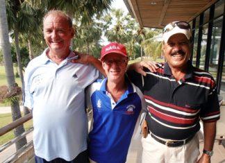 Sandy Leiper, Shane Young & Ebrahim.