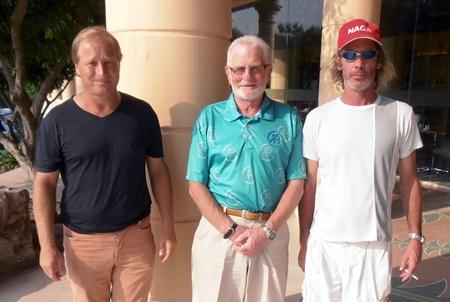 Mike Allidi, Dave Neal & Niall Stuart.