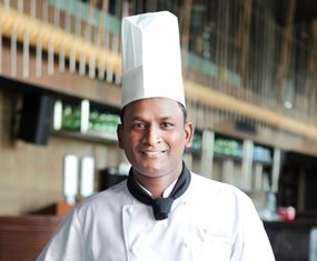 Chef Ram Pravesh Prasad.
