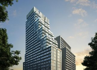 An artist's drawing shows the completed Southpoint Pattaya project by Kingdom Property.