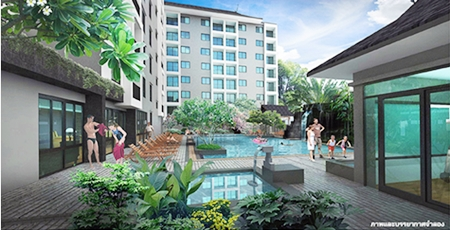 The development will feature 154 units and a full range of resort facilities.
