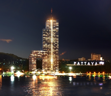 Tulip Group's Waterfront Suites and Residences at Bali Hai, South Pattaya.