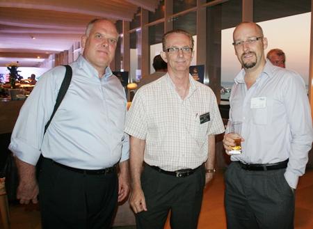 Scott Macdonald (RLC Co.) Mike Griffis (Harrington Industries) and Markus Wehrhahn (RLC Co.)