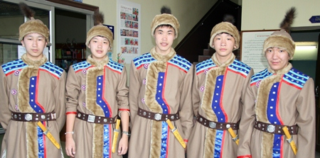 These young men were dressed more for Siberia than Pattaya.