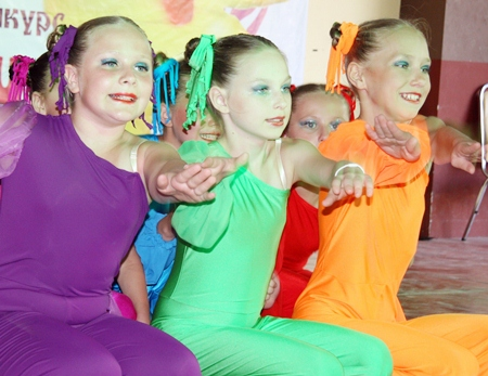 Dancers from a local dance school.