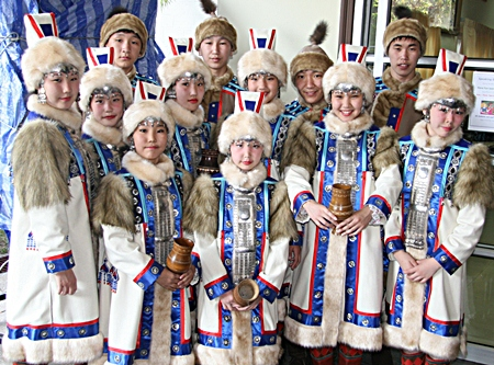 These dancers travelled all the way from northern Siberia.