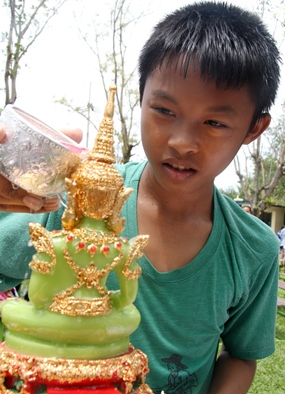 Songkran is not all about throwing water.