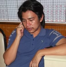 Police arrested Chaloempol Chao-suan for firing his handgun at Bali Hai Pier.