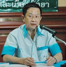 Dr. Samit Prasannakan, MD, Chonburi public health director.