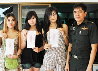 A group of transvestites did their duty and showed up for the annual military conscription lottery, but were turned away.