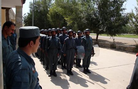 Kabul Police Academy.