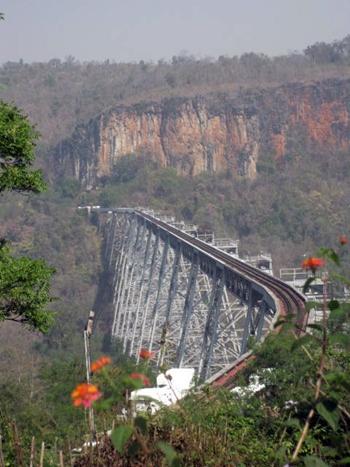 Goktiek train viaduct near Nawnghkio.