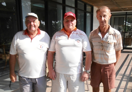 Mike Gosden, Stephen Newton & Frank Donnelly.