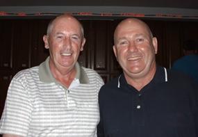 Pat Regan and Ian Halfpenny.
