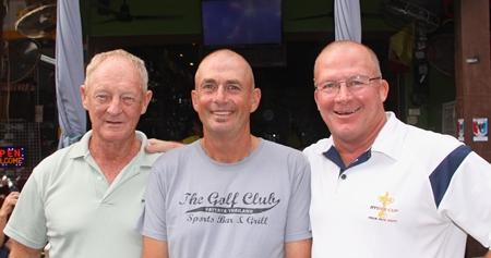 John Coetzee, Phil Newbert and John Emmerson.