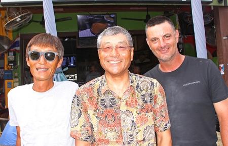 Masao Ishikawa, Ken Aihara and Frank Blazevic.