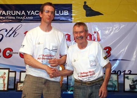 Peter Cummins (right).