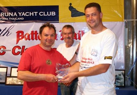 Berne Lamprecht - ASAP Marine Trading (right).