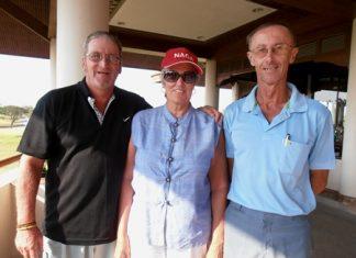 Peter Blackburn, Wendy Bernek & Frank Donnelly.
