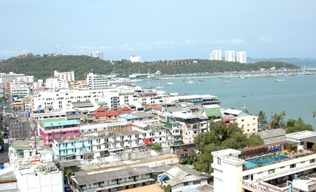 Ripley's Sky Rider offers passengers a bird's eye view of Pattaya.