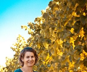 Winemaker Nadine Worley.